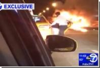 Виновник ДТП в Нью-Йорке оставил пассажирку гореть в машине