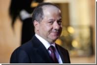Глава Иракского Курдистана назвал условие для заморозки результатов референдума