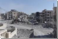 Руины освобожденной от ИГ Ракки сняли с беспилотника