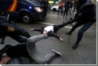 Мадрид назвал «сдержанными» действия полиции в Каталонии