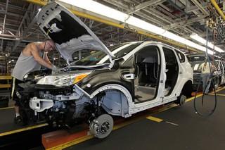Автомобили Ford для европейцев соберут из российских деталей