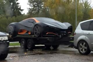 На заправке в Латвии заметили первый украинский суперкар