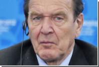 Шредер возглавил совет директоров «Роснефти»