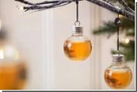 В этом году англичане нарядят рождественские ели шарами с виски