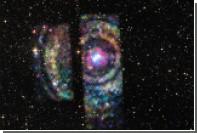 Зарегистрированы волны пространства-времени от слияния нейтронных звезд