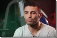 Российский боксер победил в титульном бою и получил пояс с именем соперника