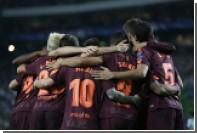 «Барселона» разгромила «Лас-Пальмас» в матче на пустом стадионе