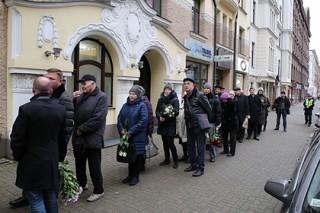 Задорнова похоронили в Латвии