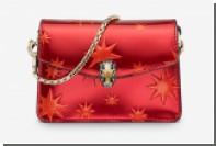 Bulgari покрыл сумки и галстуки звездами к Рождеству