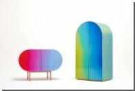 Orijeen выпустил переливающуюся разными цветами мебель