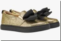 Российский бренд предложил украсить женские ноги золотом и серебром