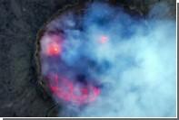 Эфиопский вулкан улыбнулся