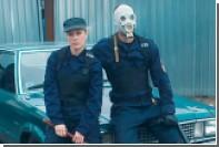Хлоя Севиньи с дубинкой поставила на колени Pussy Riot