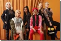 Молодежный бренд снял в рекламе 60-летнюю Бруни в полупрозрачном топе