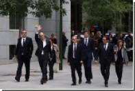 Испанский суд арестовал восемь бывших руководителей Каталонии