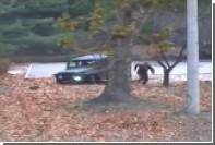 Побег северокорейского солдата попал на видео