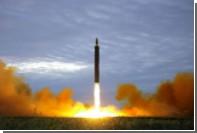Северокорейская ракета упала возле Японии