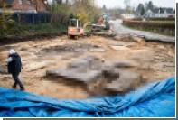 В Германии раскопали гигантскую свастику
