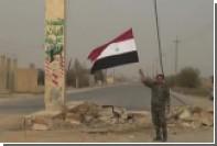 Улицы освобожденного Абу-Камаля сняли на видео