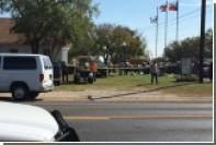 Неизвестный открыл стрельбу в церкви в Техасе