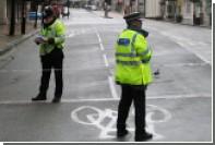 Выехавшее на тротуар такси вызвало панику в центре Лондона