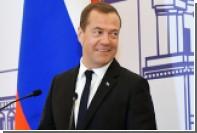 Медведев узнал байку про Петра I