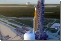 Пуск американской сверхтяжелой ракеты показали на видео