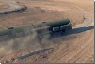 Экстремальный заезд тягача для «Тополь-М» сняли на видео