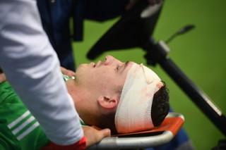 Испанский нападающий снял скальп с вратаря сборной России