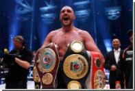 Назвавший себя толстой свиньей британец Фьюри вернется на ринг