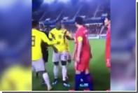 Футболист-расист притворился азиатом в матче с Южной Кореей