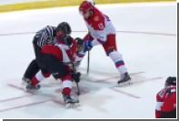 Российские хоккеисты пропустили от канадцев три шайбы в матче Суперсерии