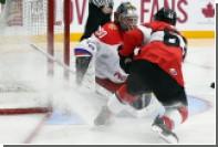 Молодежная сборная России по хоккею проиграла канадцам в матче Суперсерии