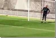Роналду забил плечом с семи метров