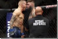 Трое бойцов потеряли чемпионские пояса на турнире UFC 217