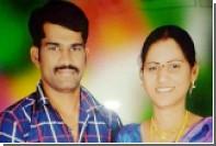 Индианка попыталась выдать облитого кислотой любовника за убитого мужа