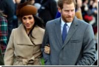 Невеста принца Гарри надела в церковь недорогое пальто канадского бренда