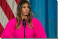 Выбраны самые безумные наряды жены президента США