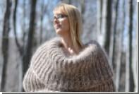 Болгары связали огромный шарф на все тело