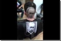 Сербский парикмахер украсил затылок портретом Путина