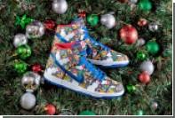 Nike выпустил уродливые кроссовки со снеговиками