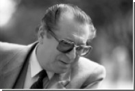 Умер народный артист СССР Владимир Курбет