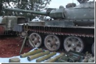 Боевики нашли танк и потеряли командира