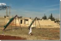 Ракетный удар по объектам сирийской армии показали на видео