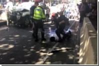 Задержание подозреваемого в наезде на пешеходов в Мельбурне попало на видео