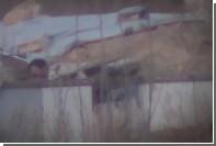Снайперская «дуэль» в Сирии попала на видео