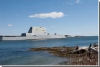 Новейший американский суперэсминец сломался во время испытаний
