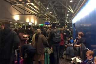 Метель вызвала коллапс в лондонском аэропорту Стэнстэд