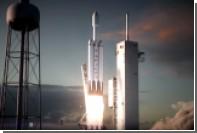 SpaceX показала готовую к пуску сверхтяжелую ракету Falcon Heavy