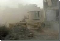 «Диковинного бронированного монстра» заметили в бою в Сирии